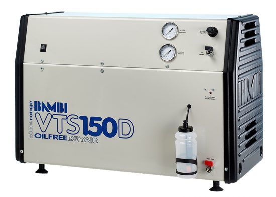 Bambi Silent Oil Free Air Compressor with Dryer